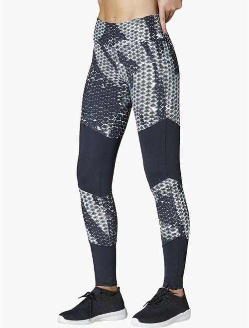 Calça Legging Estampada Textura