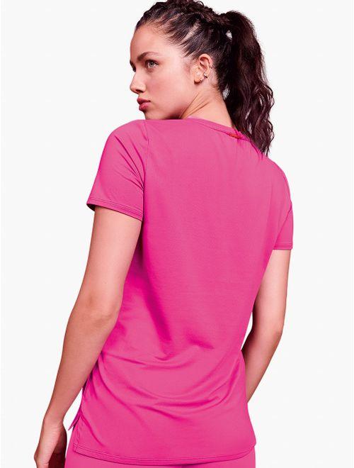 Camiseta manga curta Colorful
