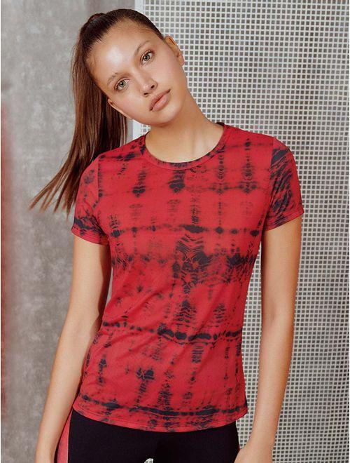 Camiseta Manga Curta Estampada Care